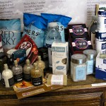 Some of the products made using Halen Môn salt.