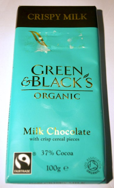Green & Black's Crispy Milk