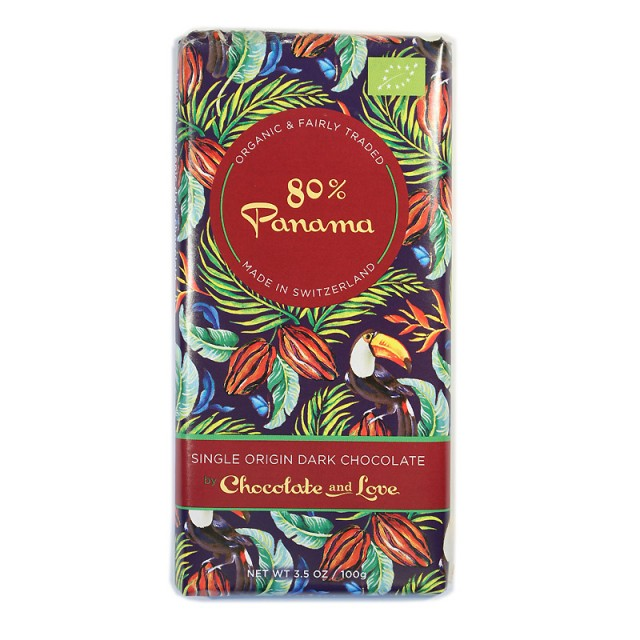 Chocolate & Love Panama 80%