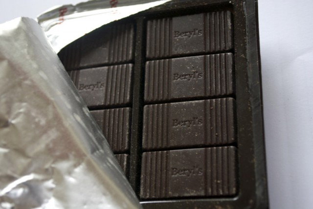 Beryl's Black Bitter Chocolate Tablets