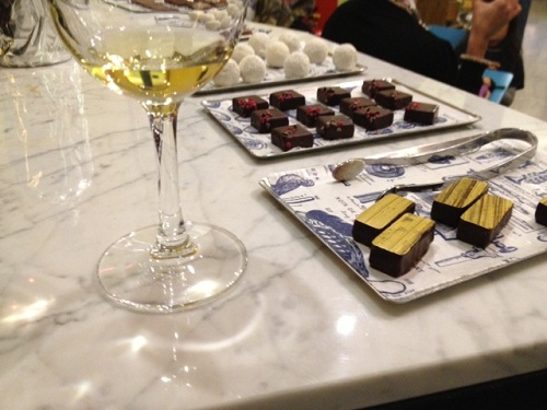 Rococo Chocolate & Wine Pairing With Le Vieux Comptoir
