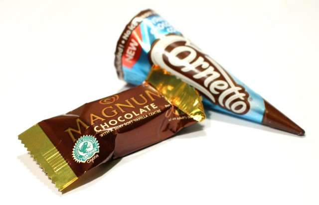 Kinnterton Cornetto & Magnum Chocolates