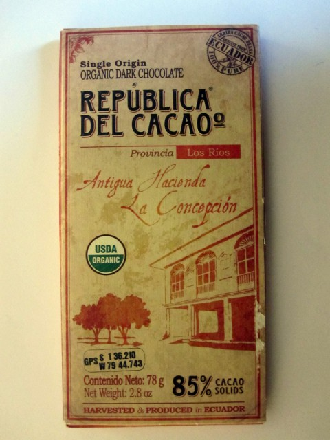 Republica Del Cacao La Concepcion  - Boxed