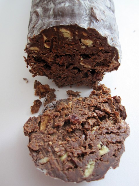 Soma Chocolate Salami - Detail