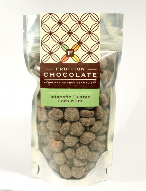 Fruition Chocolate Jalapeño Dusted Corn Nuts