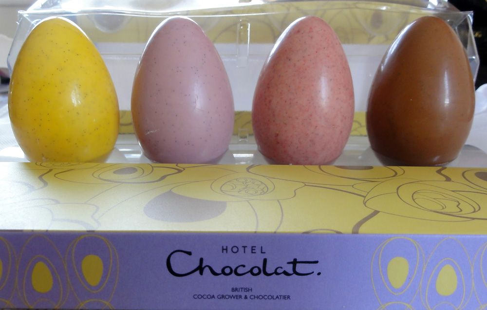 Hotel chocolat easter egg selection negle Gallery