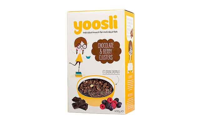 Yoosli Chocolate & Berry Clusters