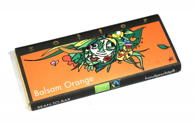 Zotter Balsam Orange