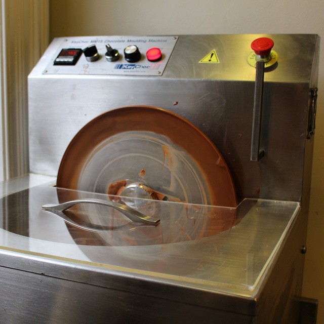 If I had one of these I'd never lose my temper... #chocolate #adventuresinchocolatemaking