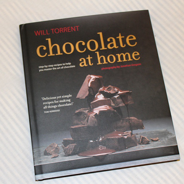 Looking forward to trying some recipes from the brilliant @willtorrent's new book #ChocolateAtHome