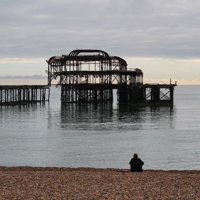 Oh I do like to be beside the seaside. #brighton #beach #pier #sea