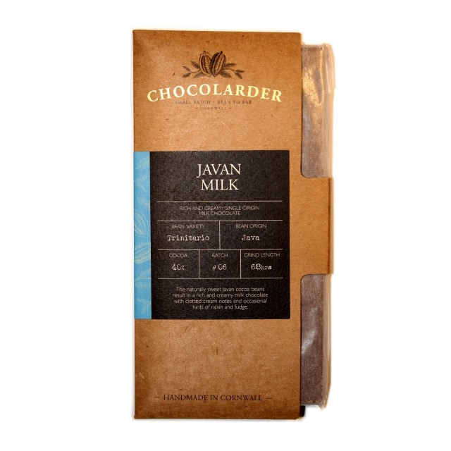 Chocolarder Javan Milk Chocolate