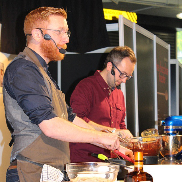Great demo from @paul_andrew_young at #TheChocolateShow earlier