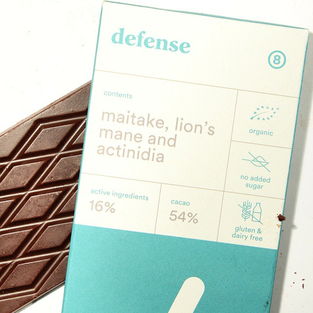 Element Chocolate from Naive. Need this today - and it's actually quite nice!