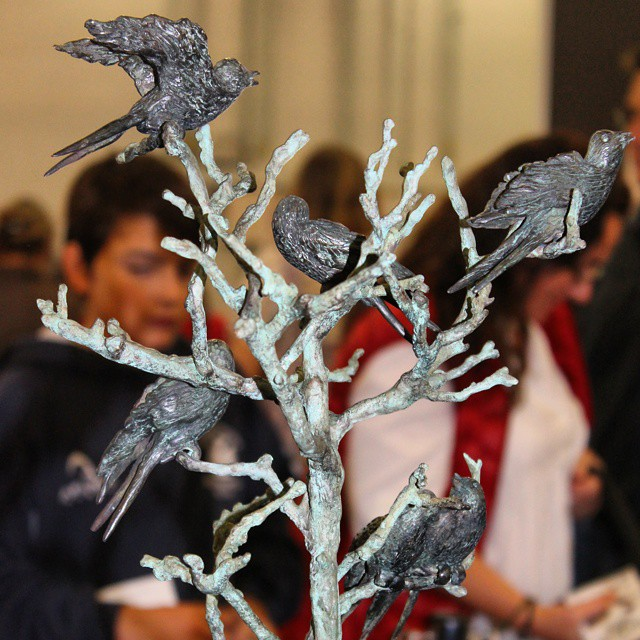 Chocolate sculpture. #TheChocolateShow