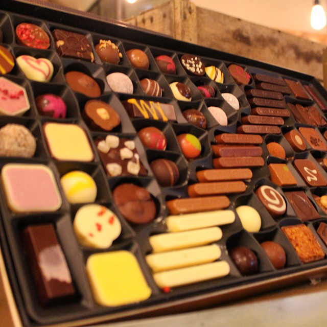 Someone really should buy me one of these. Chocolatiers Table at @hotelchocolat.