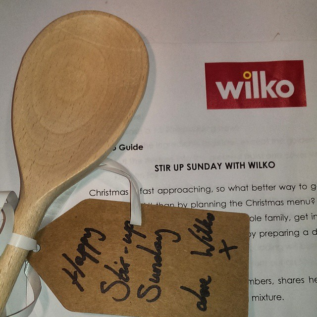 Just been sent a wooden spoon. I think this is some kind of veiled insult...