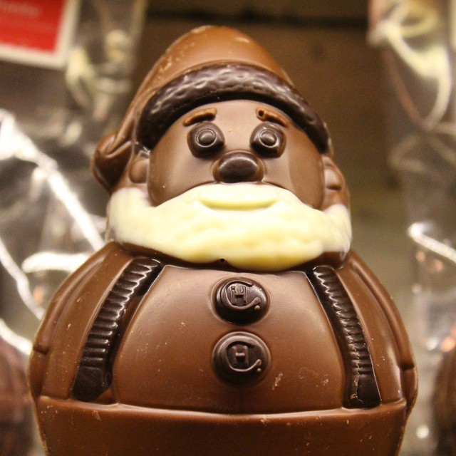 Self portrait in chocolate....