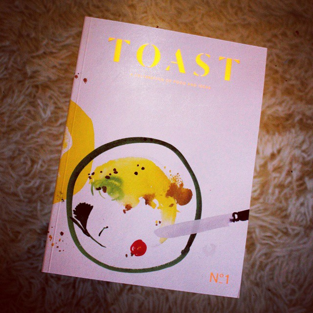 This beautiful magazine arrived while I was away. Congratulations @eatdrinktoast @miranda_york!