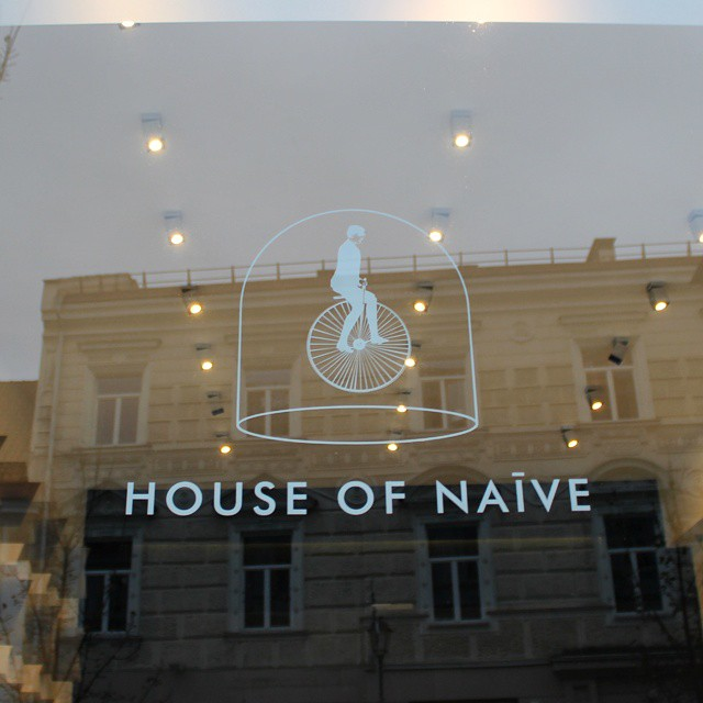 House Of Naive. Designerwear & Chocolate. Possibly the best shop in the world. #latergram