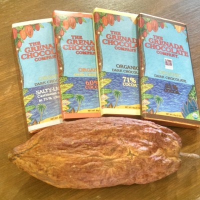 Grenada meet up Chocolate and a freeze dried cocoa pod!hellip