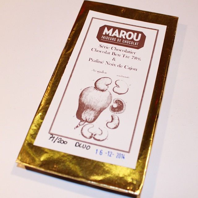 Oh no! I have just 4 hours to eat this limited edition @marouchocolate praline bar before it expires! Challenge accepted!