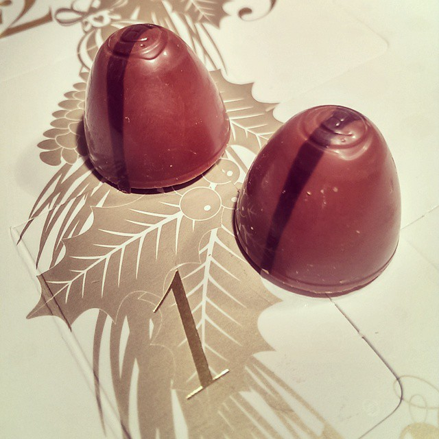 Live Instagramming my @@hotelchocolat Advent Calendar. :)