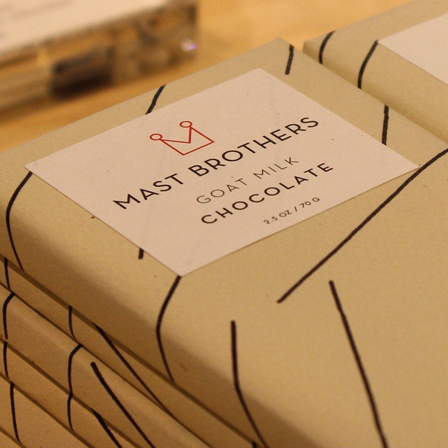 Goat Milk Chocolate at @@MastBrothers