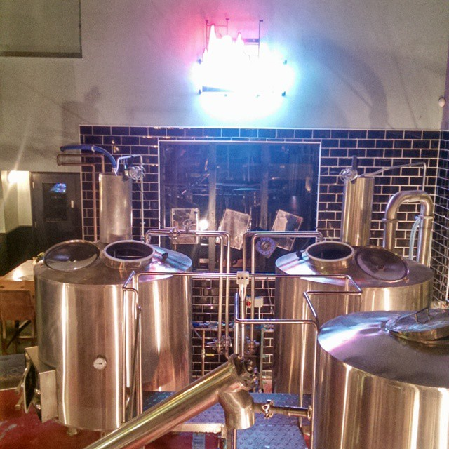 The brewery at @bohemia_n12. They need a chocolate factory too though...