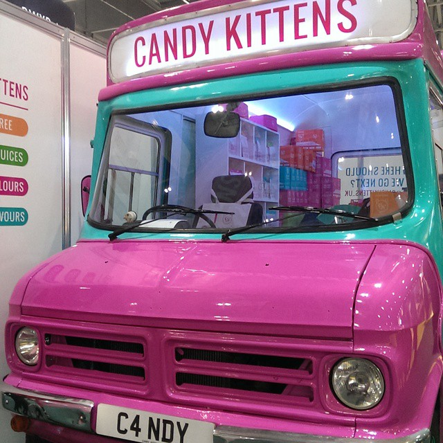 Candy! Kittens! Van! #ife15