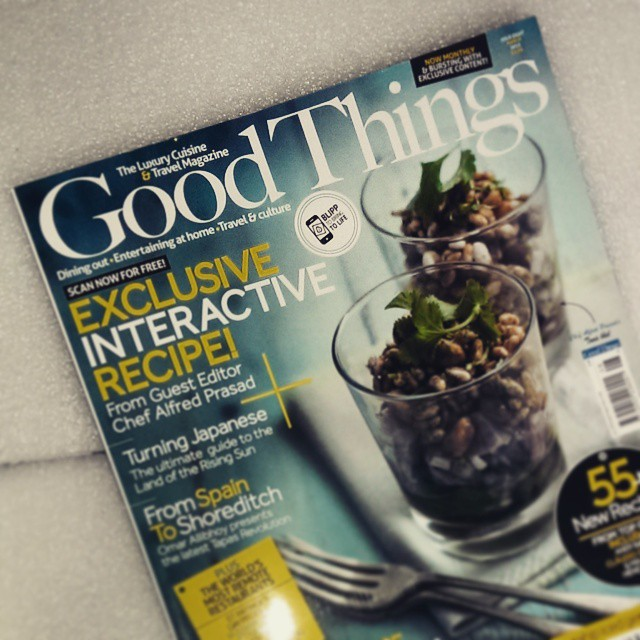 Yay my favourite magazine arrived! @goodthingsmagazine @zoeperrett