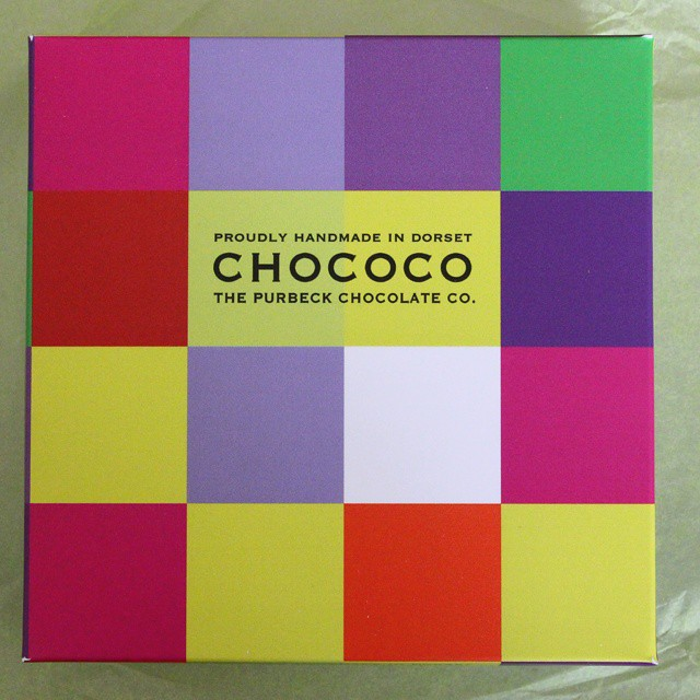 Ooh, a special delivery from @chococochocolates! What can it be??