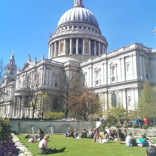 And this is why i love London in the summer!