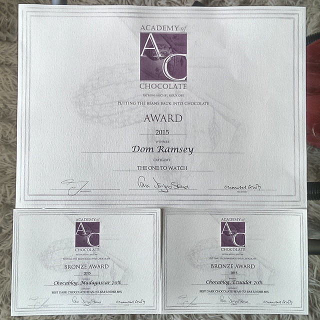 Still can't believe I got three awards. I only entered twice!