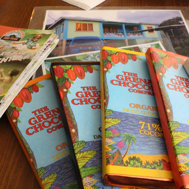 Planning our trip to Grenada with @hazel_lee3 @rococochocolates @qb52
