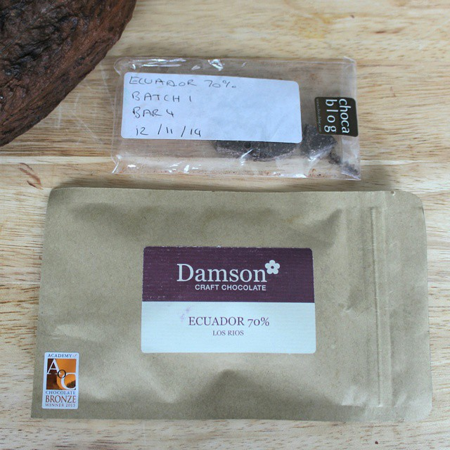 We've come a long way... But still have a long way to go! @damsonchocolate #beantobar