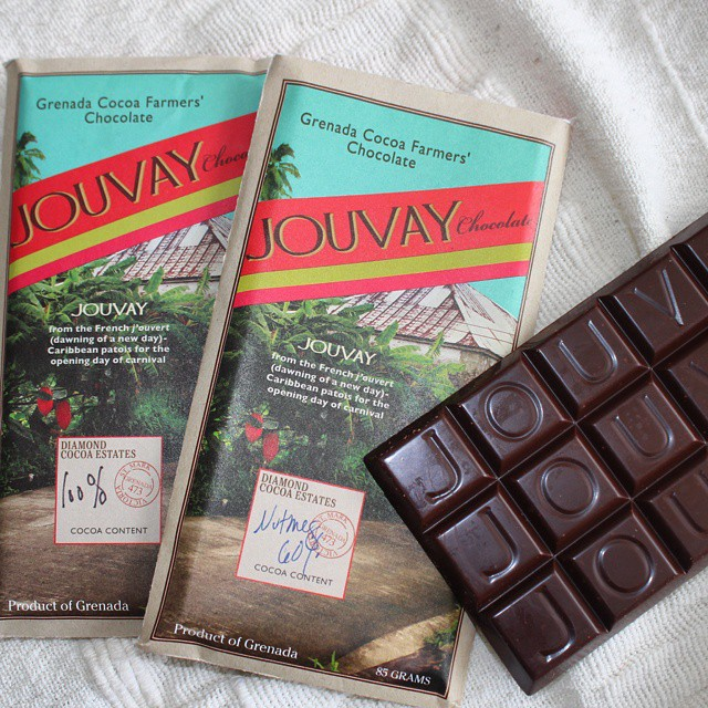 Tasting some of Grenada's newest #beantobar chocolate and wishing I was back there! #grenadacocoa
