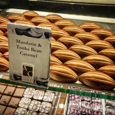 Mandarin amp Tonka Bean Caramels at rococochocolates Continue reading rarr