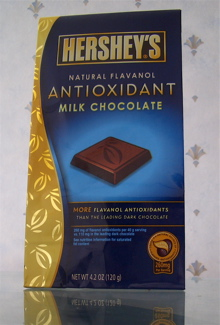 Hershey's Natural Flavanol Antioxidant Milk Chocolate