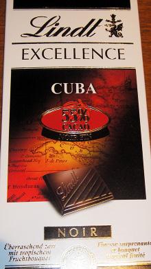 Lindt Excellence Cuba