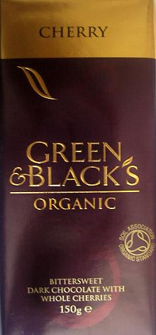 Green & Black's Bittersweet Chocolate With Cherries