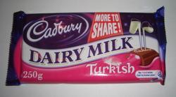 Dairy Milk with Turkish