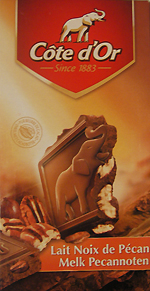Cote D'Or Milk Chocolate Pecan