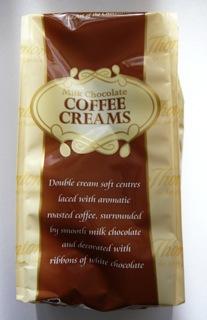 Thorntons Milk Chocolate Coffee Creams