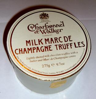 Charbonnel et Walker Marc de Champagne Truffles