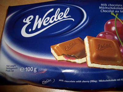 Wedel Cherry Milk Chocolate