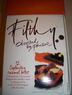 Filthy Food Captivating Caramel Bites