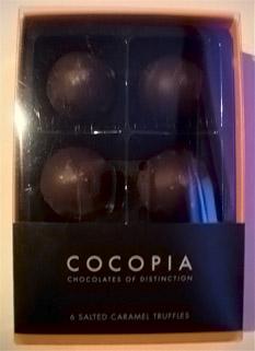 Cocopia Salted Caramel Truffles