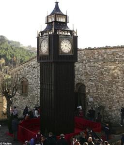 Chocolate Clock Tower