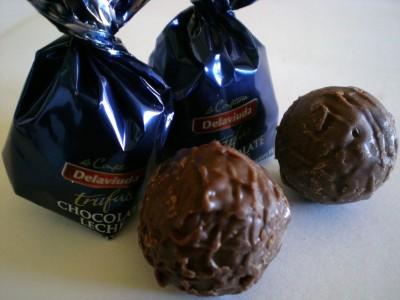 Delaviuda Chocolate Leche Truffles